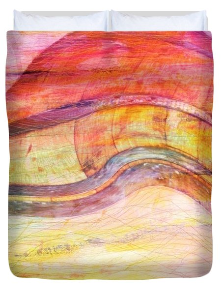 Bumped Wine Barrel Duvet Cover by PainterArtist FIN