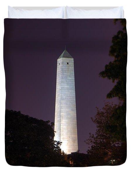 Bunker Hill Monument - Boston Duvet Cover by Joann Vitali