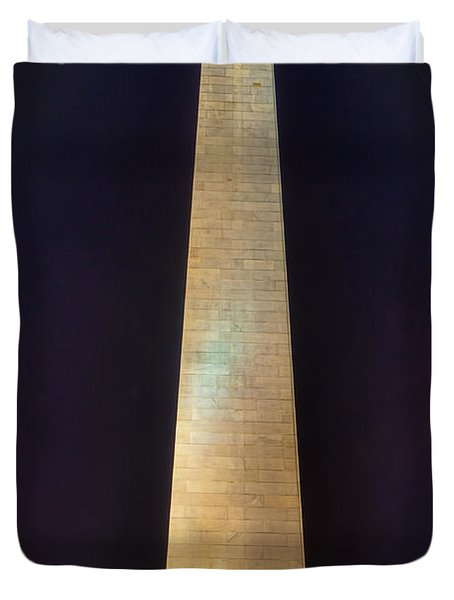 Bunker Hill Monument Duvet Cover by Joann Vitali