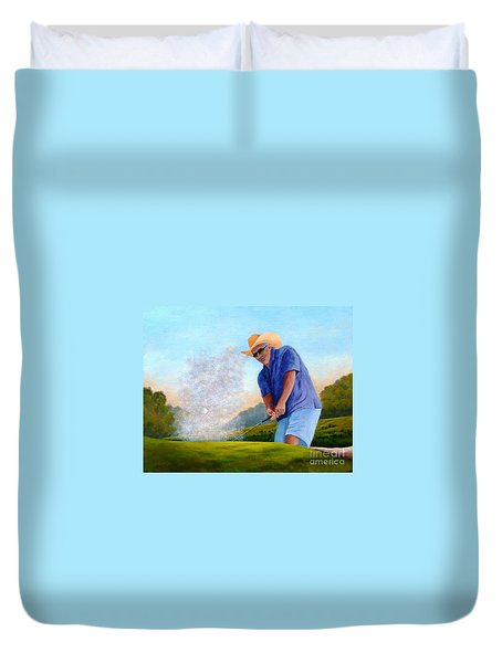 Bunker Shot Duvet Cover