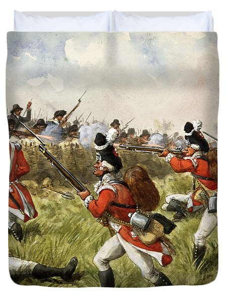 Bunkers Hill, 1775 Duvet Cover