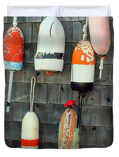 Buoys On The Wall Duvet Cover
