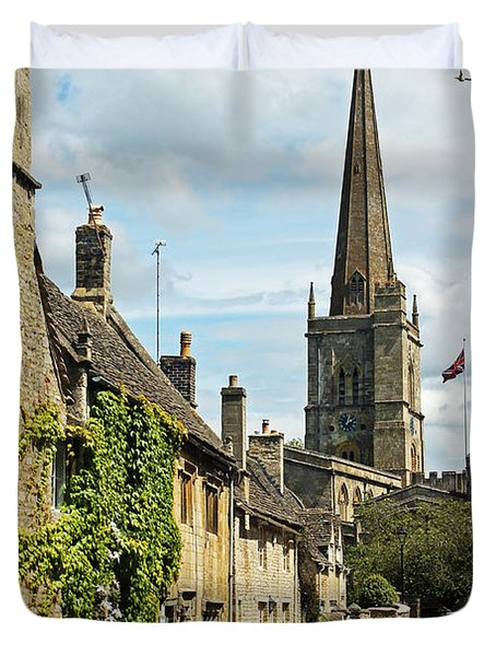 Burford Village Street Duvet Cover