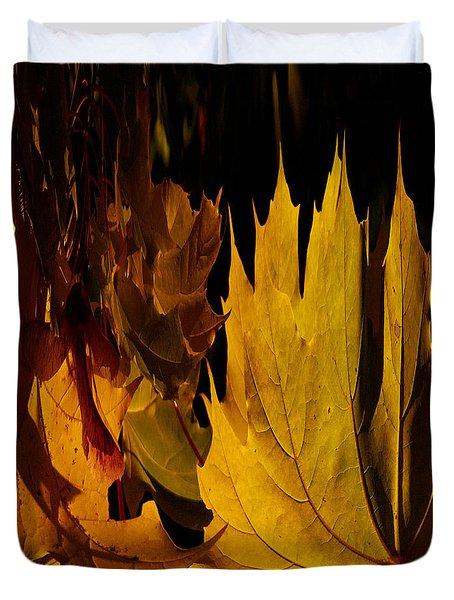 Burning Fall Duvet Cover