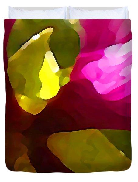 Burst Of Spring Duvet Cover by Amy Vangsgard