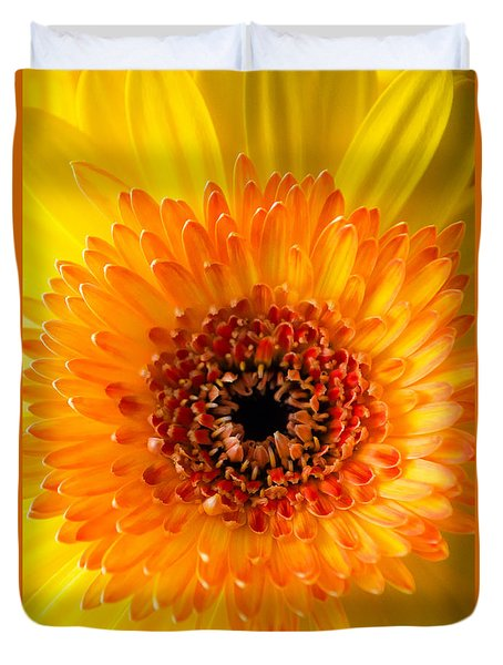 Burst Of Sunshine Duvet Cover by Shelby  Young