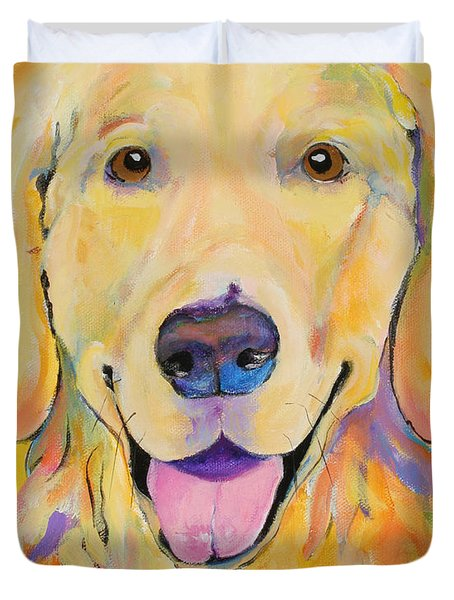 Buster Duvet Cover by Pat Saunders-White
