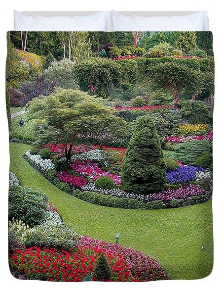 Butchart Gardens Duvet Cover