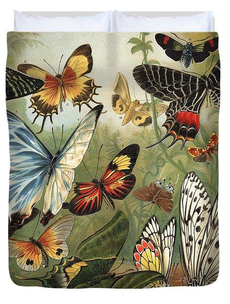 Butterflies 2 Duvet Cover by Mutzel