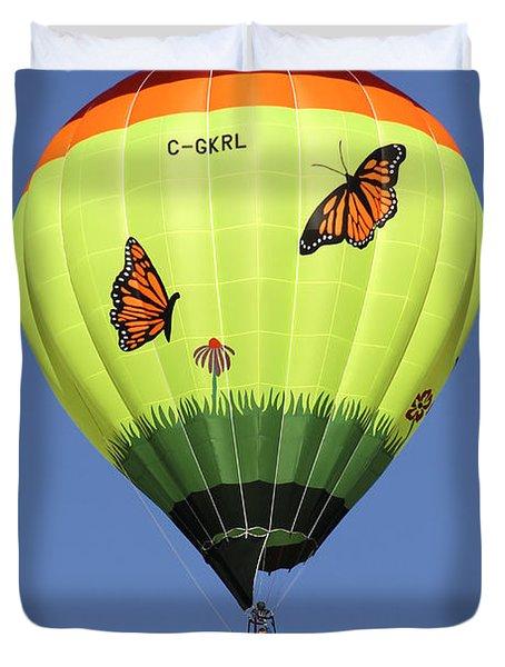 Butterflies  Duvet Cover by Mike McGlothlen