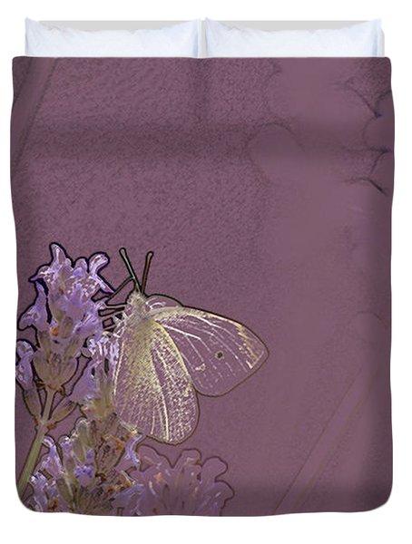 Butterfly 1 Duvet Cover by Carol Lynch