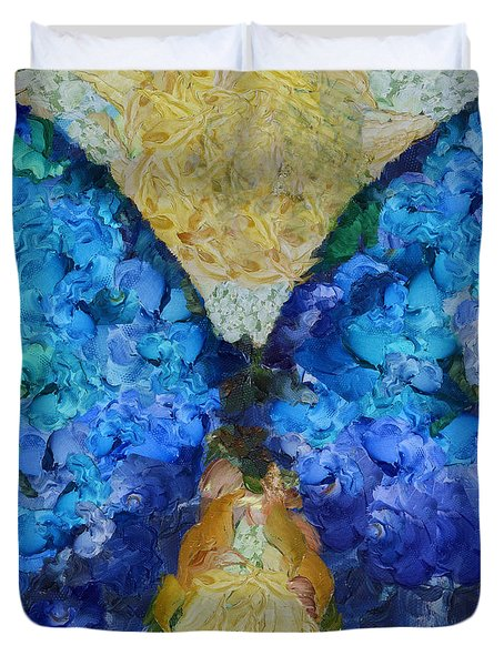 Butterfly Art - D11bb Duvet Cover by Variance Collections