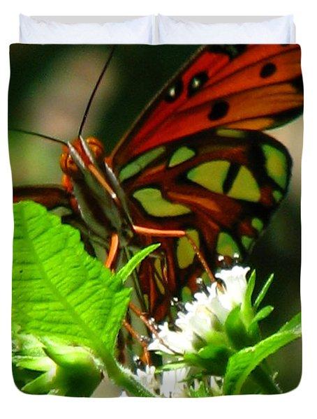 Butterfly Art Duvet Cover by Greg Patzer