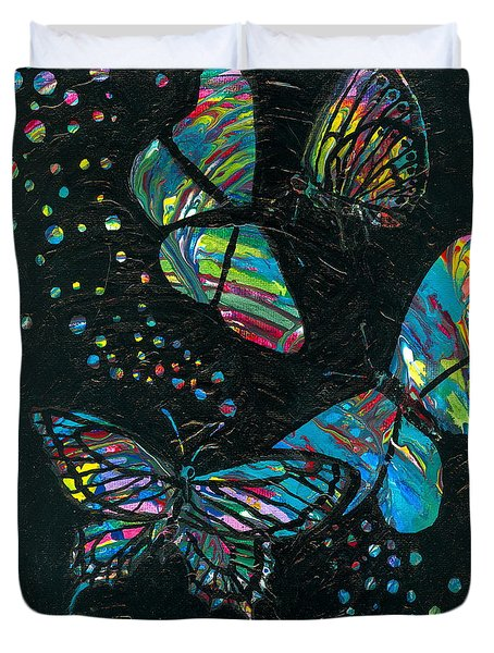 Butterfly Beauties Duvet Cover