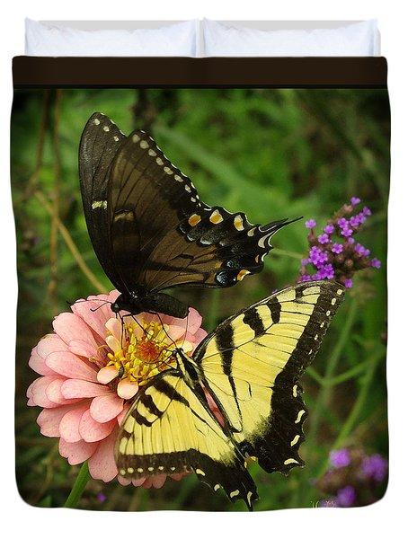 Swallowtaill Bliss Duvet Cover
