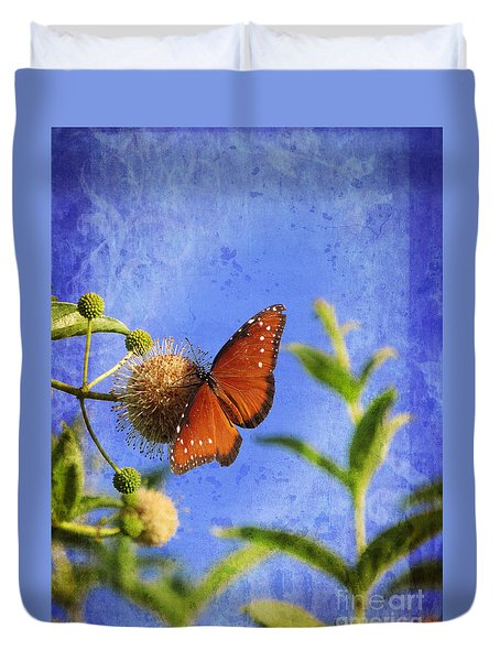 Butterfly - Bow To The Queen Duvet Cover
