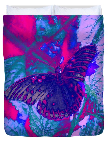 Butterfly  Duvet Cover by David Mckinney