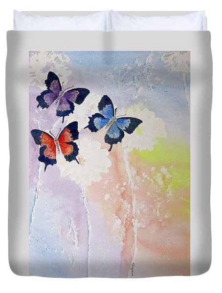Butterfly Dream Duvet Cover