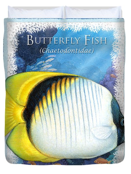 Butterfly Fish Duvet Cover