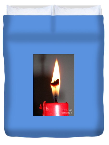 Butterfly Flame Duvet Cover