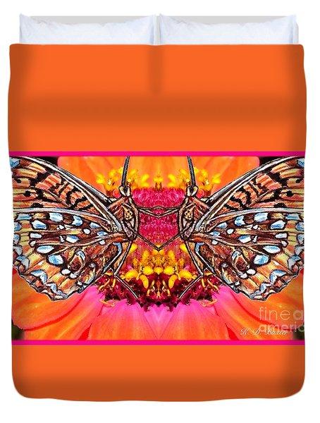 Butterfly Jig Duvet Cover by Kimberlee Baxter