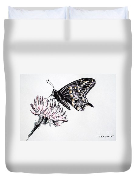 Butterfly Duvet Cover by Katharina Filus