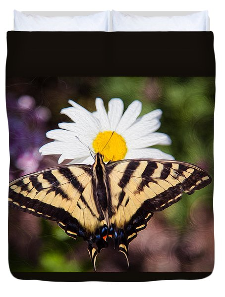 Butterfly Kisses Duvet Cover