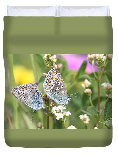 Butterfly Lovers Duvet Cover
