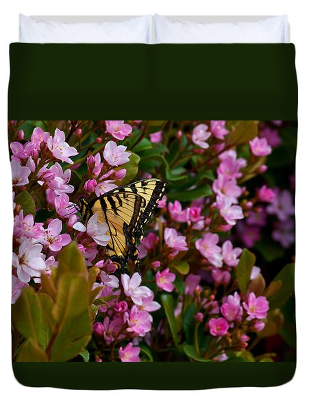 Butterfly Duvet Cover by Mark Alder