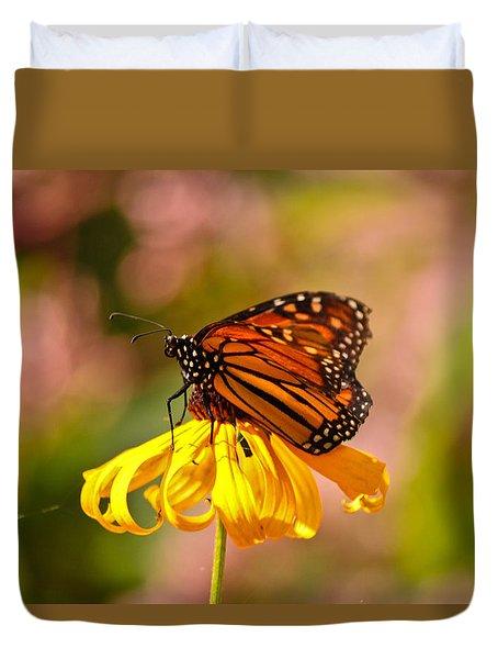 Butterfly Monet Duvet Cover