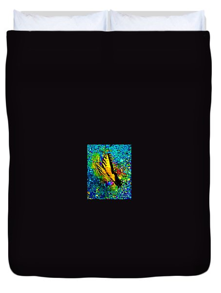 Butterfly Mosaic Duvet Cover