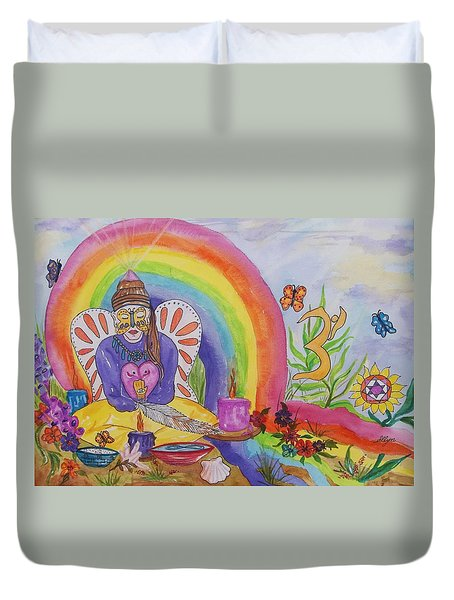 Butterfly Woman Healer I Am Duvet Cover