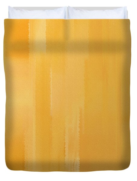Butterscotch Duvet Cover