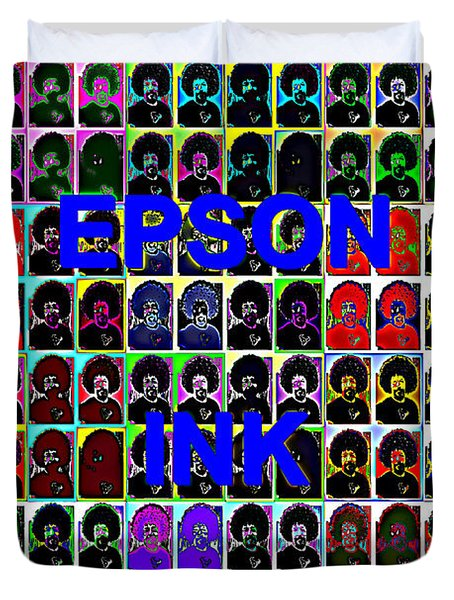 Buy Epson Ink Duvet Cover
