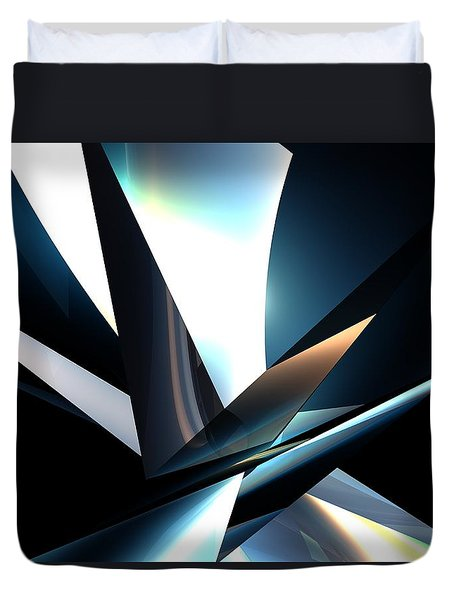 Bw Abstact Duvet Cover
