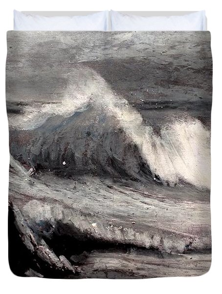 By Albert Bierstadt Duvet Cover by Maria Leah Comillas