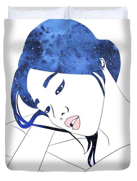 By Starlight Duvet Cover
