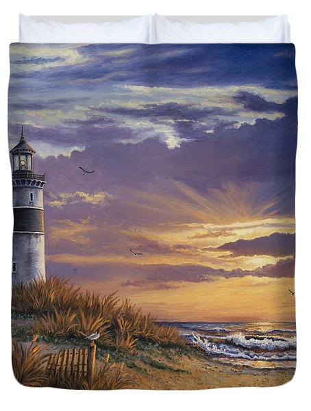 By The Bay Duvet Cover