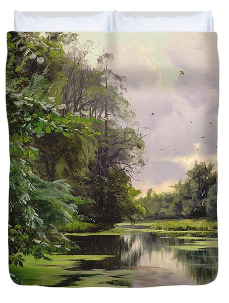 By The Lake II Duvet Cover