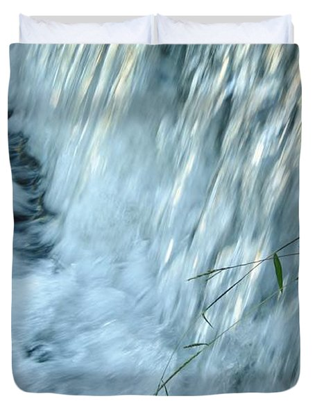 By The Weir Dam Duvet Cover