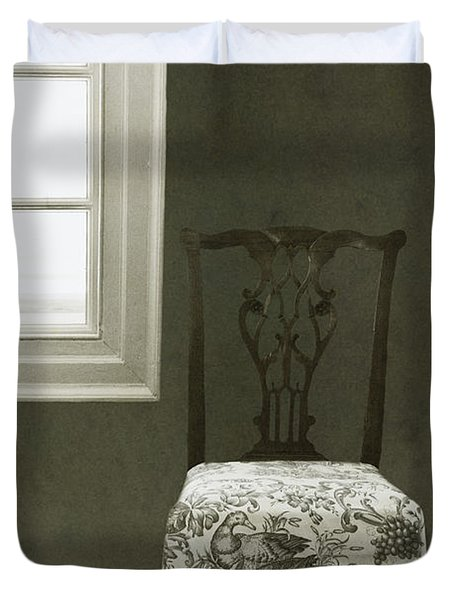 By The Window Duvet Cover by Margie Hurwich