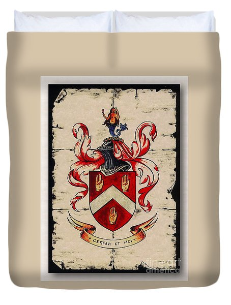 Byrne Coat Of Arms Duvet Cover