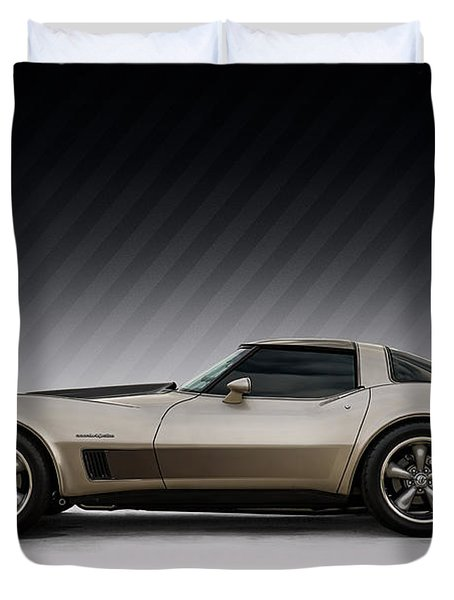 C3 Stingray Duvet Cover