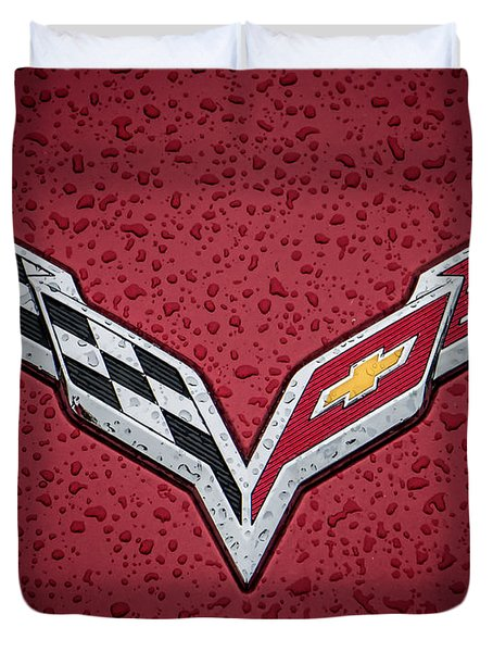 C7 Badge Duvet Cover