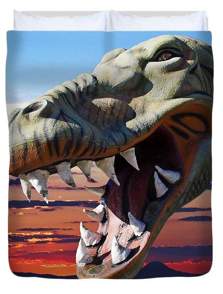 Cabazon Dinosaur Duvet Cover