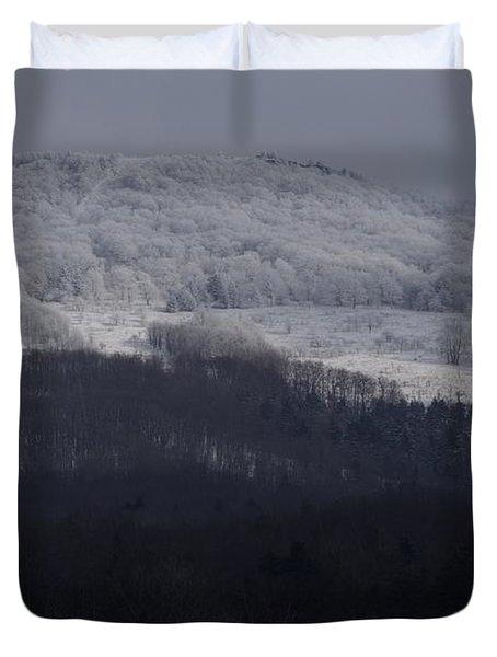 Cabin Mountain Duvet Cover
