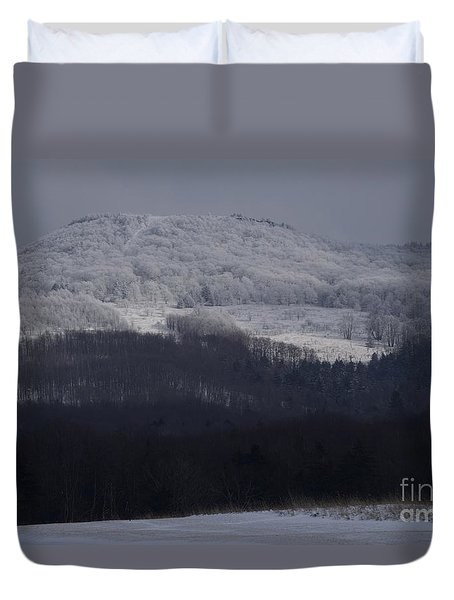 Cabin Mountain Duvet Cover