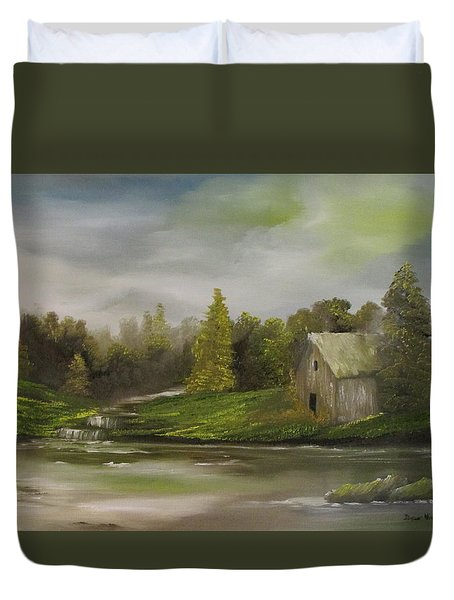 Cabin Retreat Duvet Cover