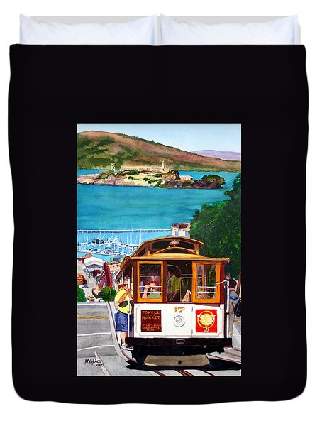 Cable Car No. 17 Duvet Cover