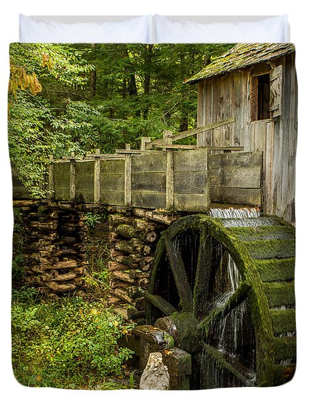 Cable Mill Cades Cove Duvet Cover